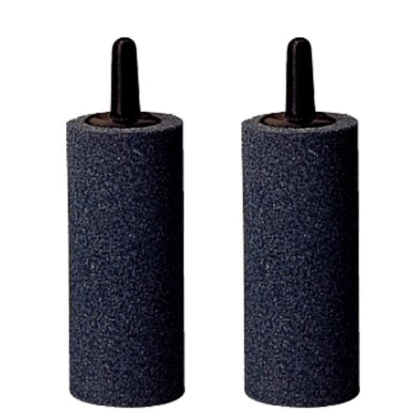 Bộ 2 sủi oxy, đá sủi oxy, quả sủi oxy Loại tốt, Cỡ trung đường kính 3cm, cao 5.3cm, nặng 60gr dùng cho Máy sủi oxy, Máy sục khí - Tăng lượng khí oxy bể cá - Giúp cá lớn nhanh, phát triển mạnh