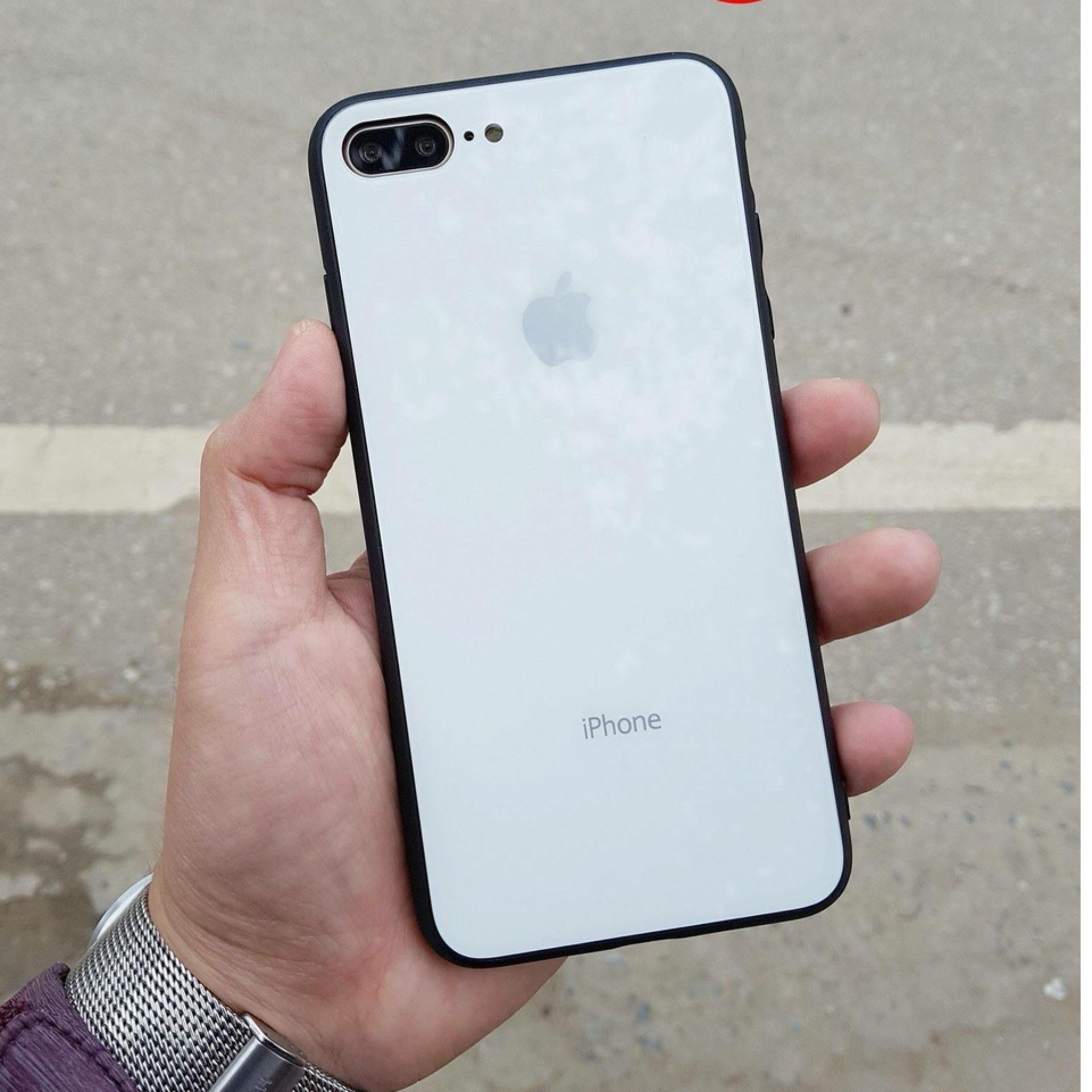 Bán Ốp Lưng Mặt Sau La Kinh Cường Lực Cho Iphone 8 Plus 7 Plus Có Thương Hiệu Nguyên