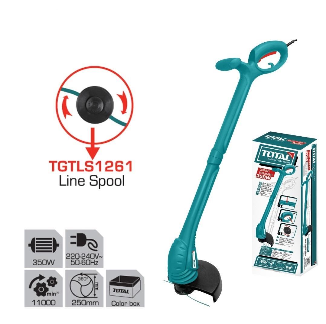 Máy cắt cỏ cầm tay dùng điện 350W TOTAL TG103251
