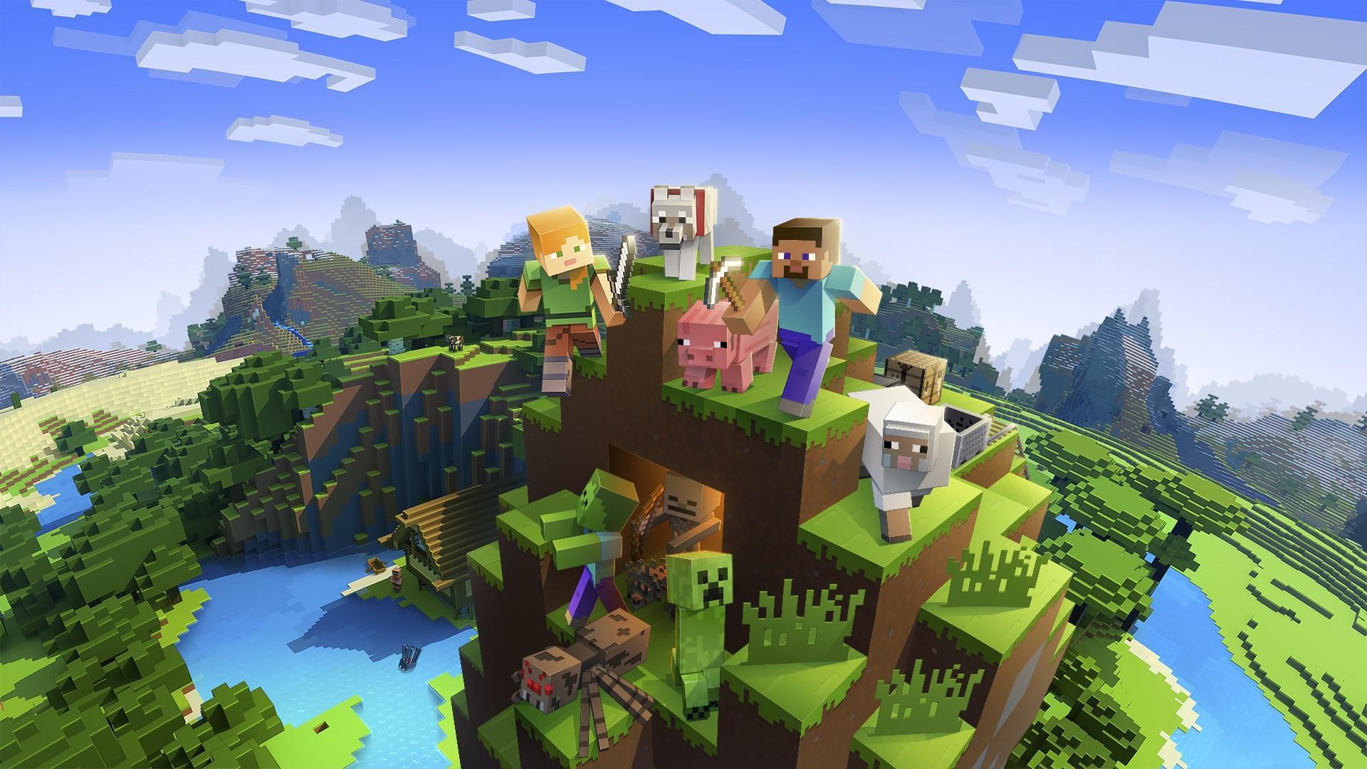 Hình ảnh Game Minicraft siêu hót cho trẻ