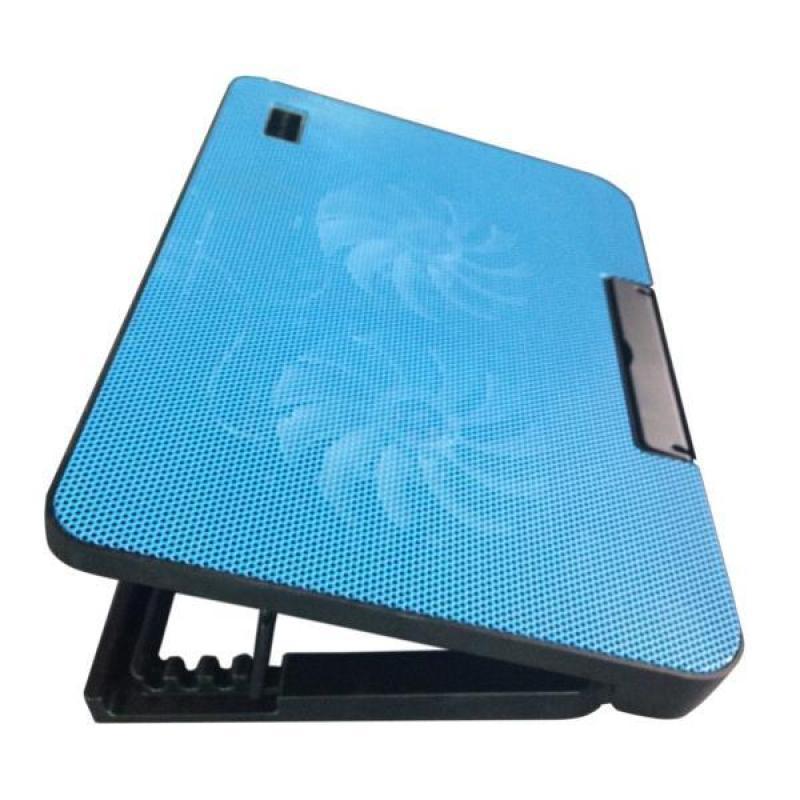 Đế tản nhiệt laptop cực mạnh có đế nâng 45 độ hổ trợ 2 cánh quạt mạnh mẽ