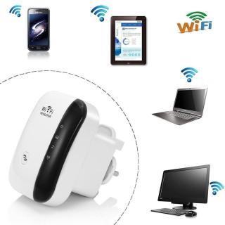 Bộ thu phát wifi Repeater Wireless-N 300M chuẩn (trắng) thumbnail