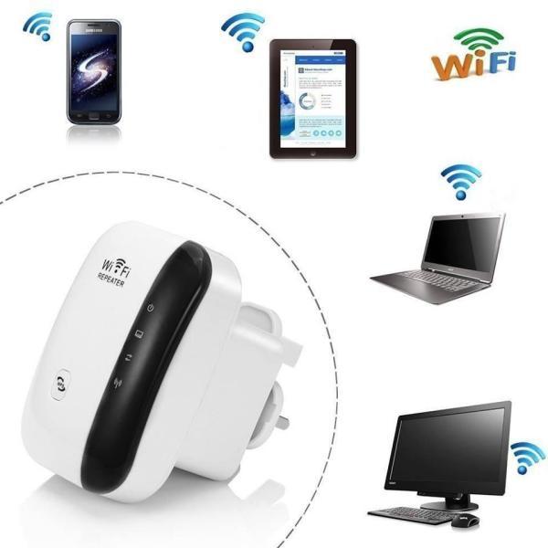 Bộ thu phát wifi Repeater Wireless-N 300M chuẩn (trắng)