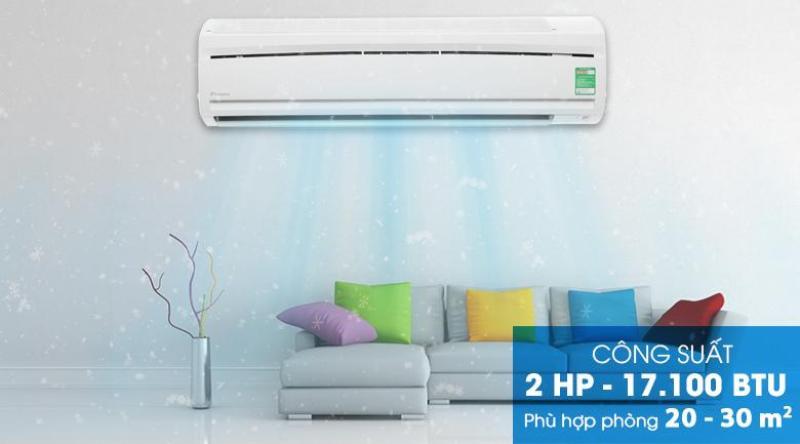Bảng giá Máy lạnh Daikin 2.0 HP FTC50NV1V Mới 2018
