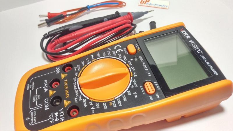 Đồng hồ vạn năng điện tử VICTOR  VC890C+ (chuẩn hãng)