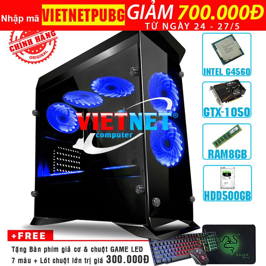 Hình ảnh Máy tính chiến game G4560/4600 card GTX-1050 RAM 8GB 500GB (chơi PUBG, GTA5, Witcher 3, Subnautica, ARKSurvival, LOL, CF, Fifa, v.v...)