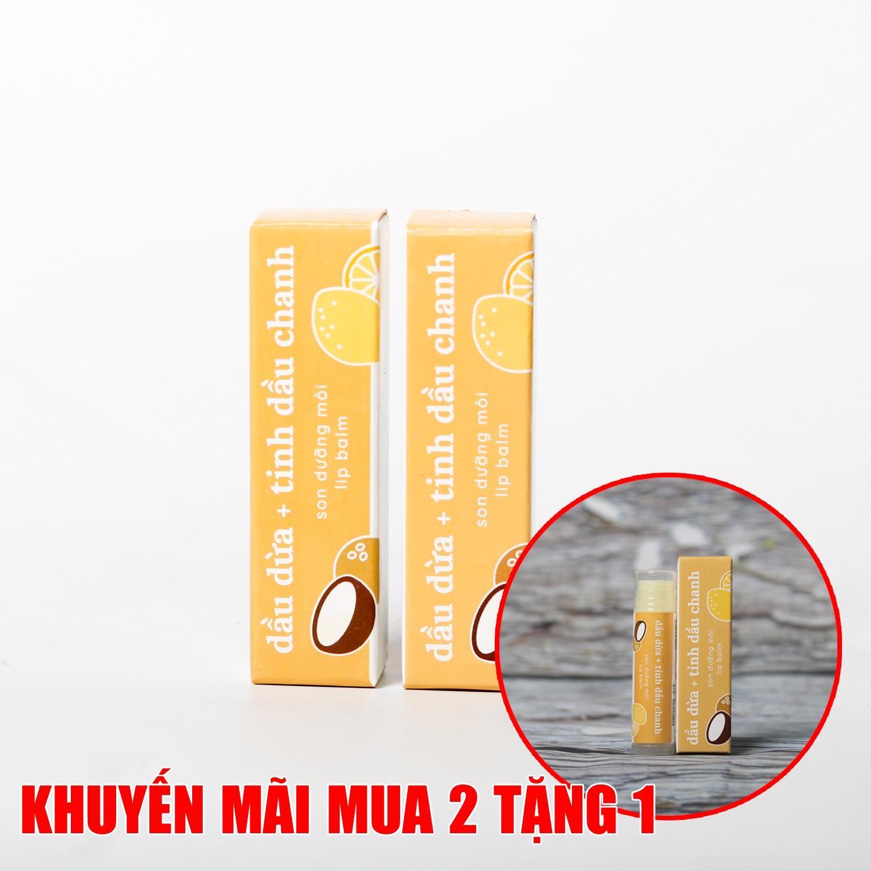 Combo 2 Son Dưỡng Môi Lip Care Cocoon MUA 2 TẶNG 1
