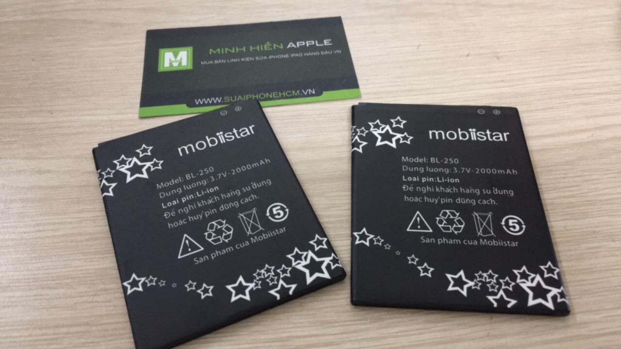 Pin Mobiistar BL-250 zin bảo hành 6 tháng