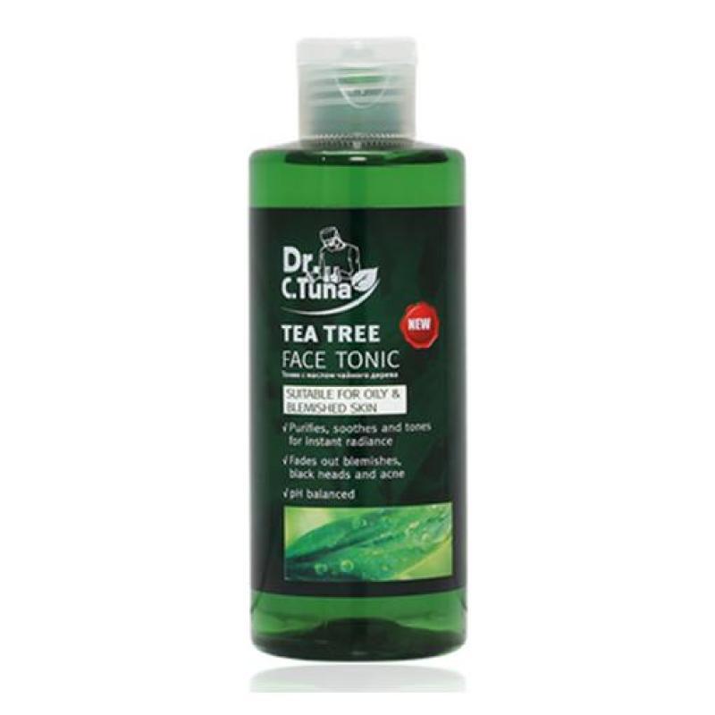 Nước Hoa Hồng Trị Mụn Dr. C.Tuna Tea Tree Face Tonic - Farmasi cao cấp