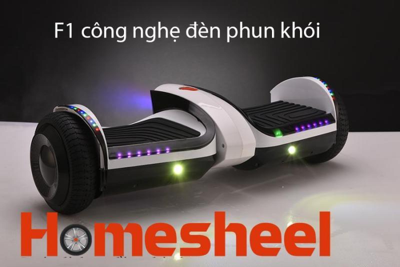 Giá bán Xe điện cân bằng Homesheel F1 USA Phiên bản 2019 - Trắng cổ