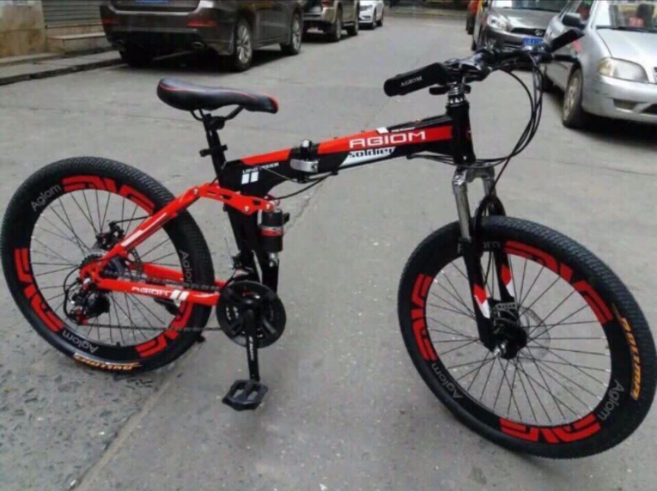 Xe đạp thể thao gấp gọn được 26 inch