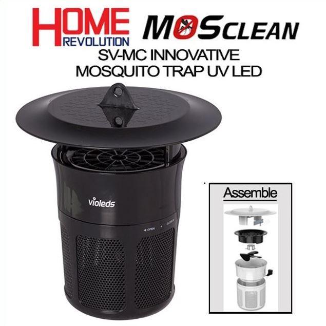 Máy bắt muỗi (đèn bắt muỗi) LED UV Hàn Quốc Mosclean, nhập khẩu chính hãng Rạng Đông, Bảo Hành 2 Năm