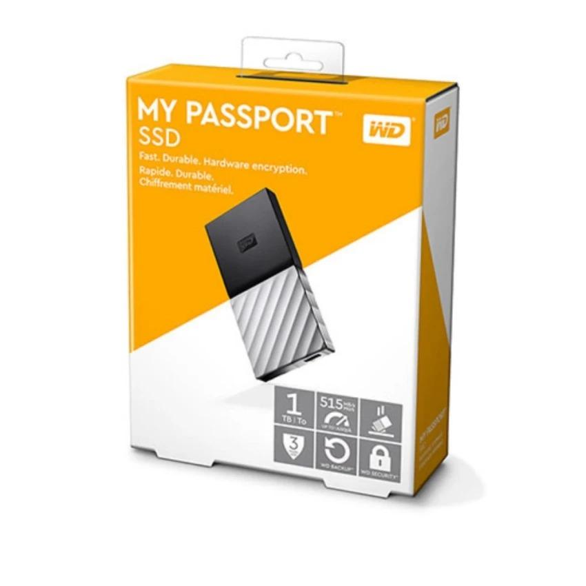 Ổ Cứng Wd My Passport Ssd - 1tb By Tt Computer.