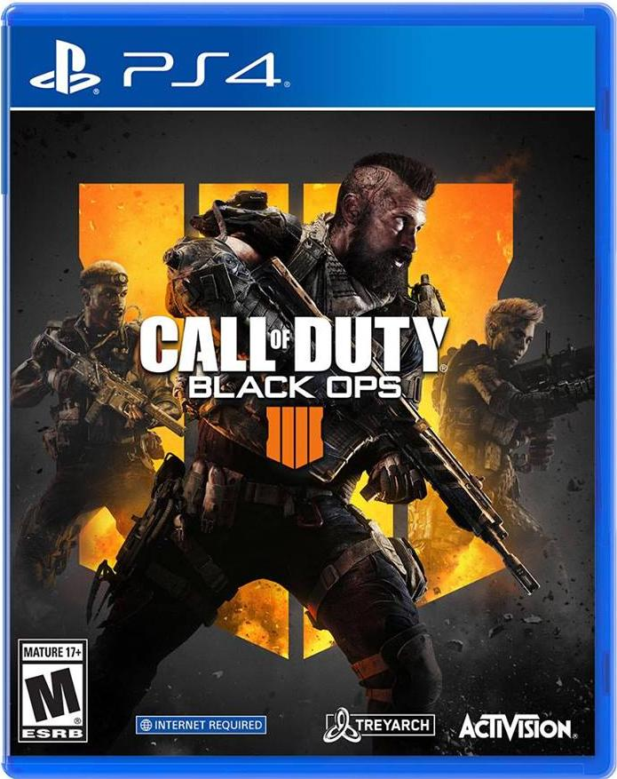 Hình ảnh Đĩa Game PS4 - Call Of Duty Black Ops 4