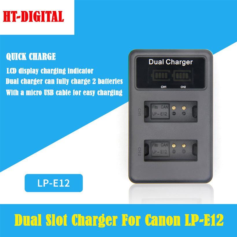 Mã Khuyến Mãi Khi Mua Bộ Sạc đôi Pin Canon LP-E12 Dual Charger