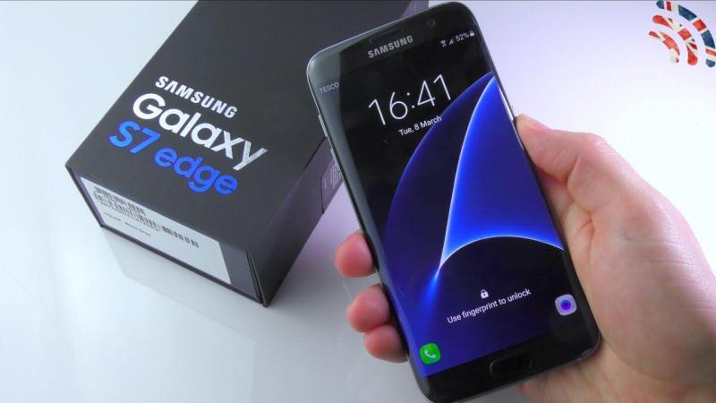 Samsung Galaxy S7 Edge 1 Sim Và 2 Sim hàng nhập khẩu full box zin all good 100% giá rẻ