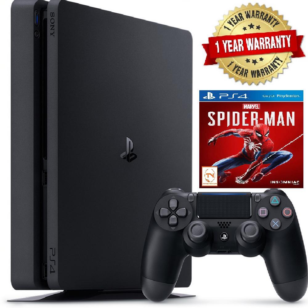 Hình ảnh Máy Sony Playstation 4 PS4 Slim 500GB CUH-2218A [Tặng Kèm Spider Man]