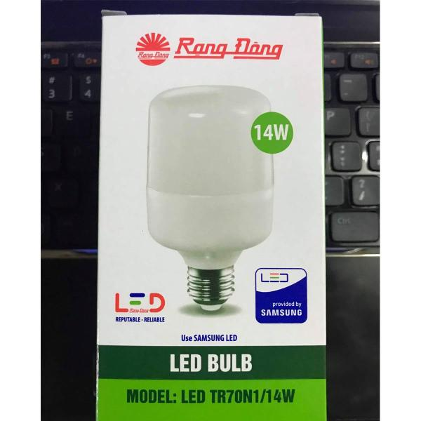 Bóng đèn LED Bulb trụ 14W Rạng Đông chip Samsung