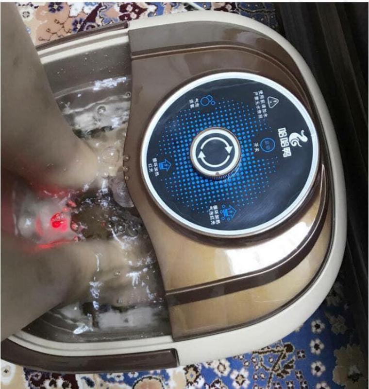Máy ngâm chân, mát xa chân có sục, làm nóng nước tiện lợi cho các tiệm nails spa và gia đình, giúp lưu thông khí huyết cao cấp