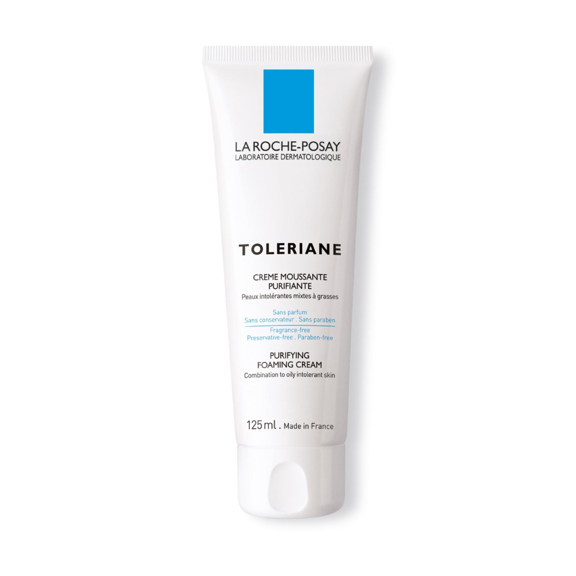 La Roche Posay Sữa Rửa Mặt Dành Cho Da Nhạy Cảm Toleriane Purifying Foaming Cream 125ml tốt nhất