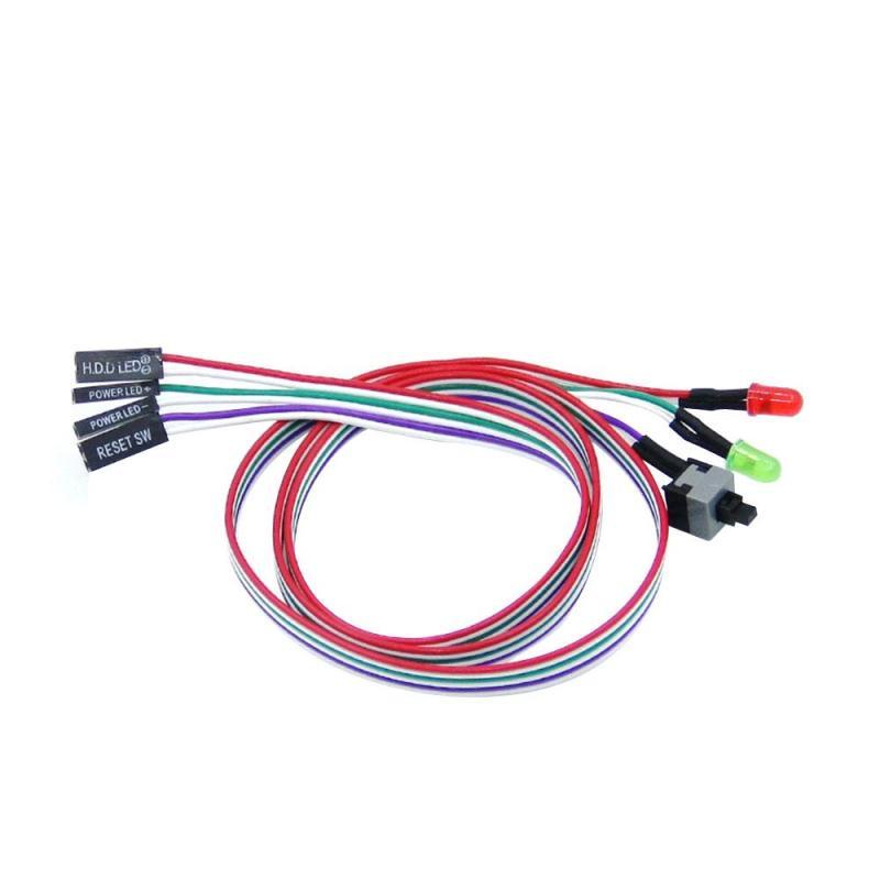 Bảng giá YYSL Để Bàn ATX PC Máy Tính Bo Mạch Chủ Công Tắc Nguồn Cáp 60 cm Có ĐÈN LED-quốc tế Phong Vũ