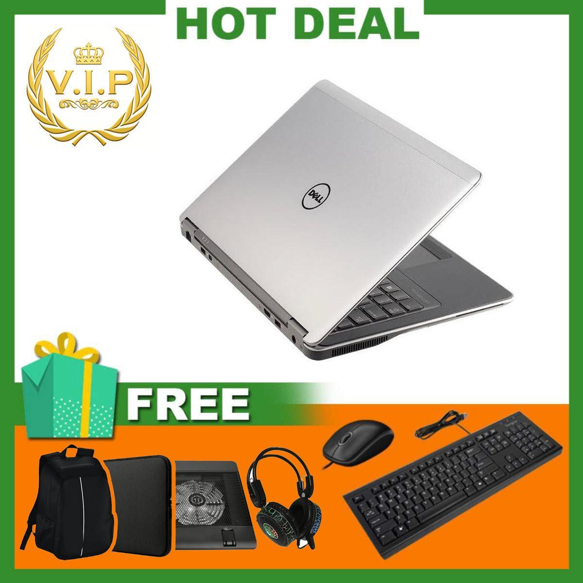 Laptop Dell Latitude 7440 ( i5-4300U, 14inch, 8GB, SSD 120GB ) Chất Lượng Tốt + Bộ Quà Tặng - Hàng Nhập Khẩu