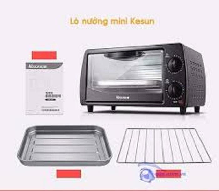 [DEAL SỐC] Lò nướng điện Kesun cao cấp 9L (màu đen), Công suất 800W, bảo hành 6 tháng– ALOBUY  VIỆT NAM