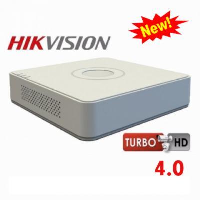 Đầu ghi hình Hybrid TVI-IP 16 kênh TURBO 4.0 HIKVISION DS-7116HQHI-K1.Hàng Chính Hãng