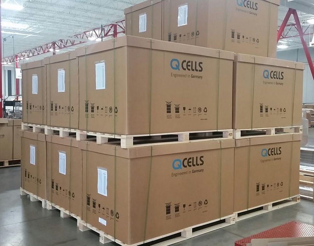 hệ thống điện mặt trời hòa lưới 5kw poly qcell