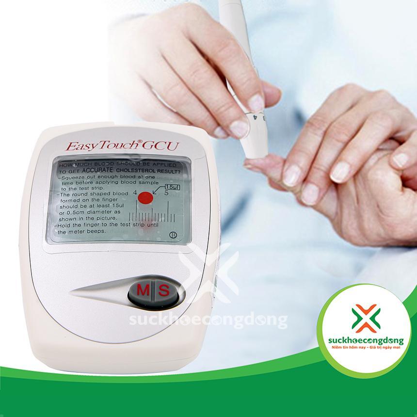 Nơi bán [MUA 1 TẶNG 4] Máy đo đường huyết 3 trong 1 Rossmax Easy Touch GCU ET322 + Tặng 03 Trà Dưỡng Tâm + 01 Dầu thảo dược An Phúc Bình