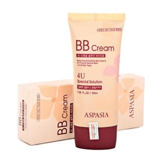 Kem lót trang điểm Aspasia 4U Special BB Solution Cream SPF50 PA+++, Hàn Quốc thumbnail