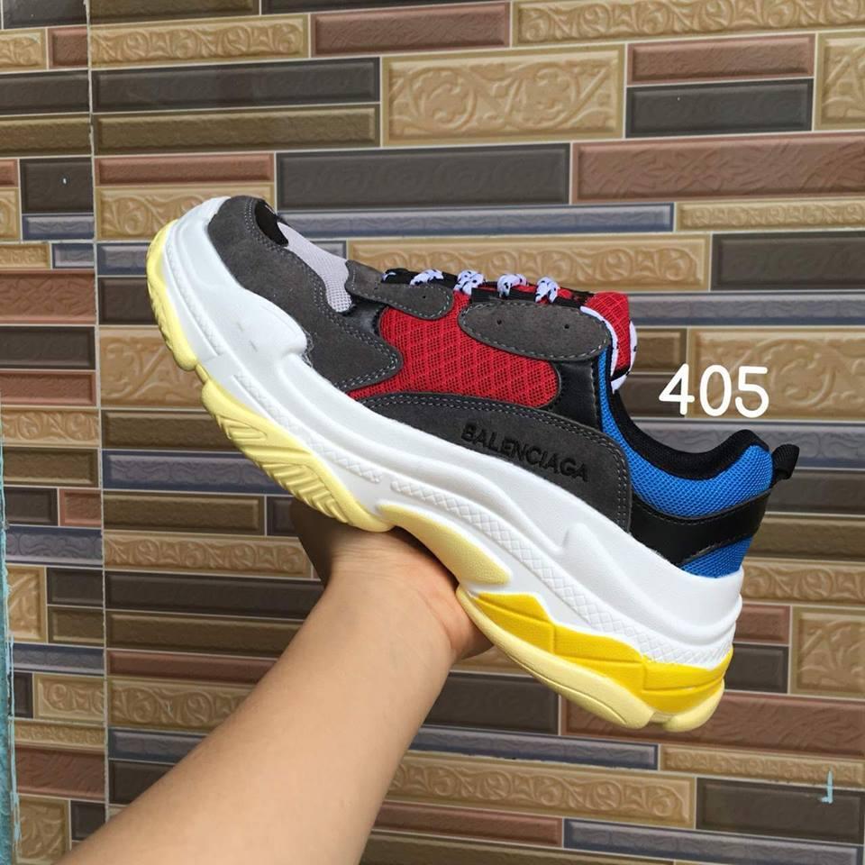 Hình ảnh Giày Balen Tripple S nam nữ Fullbox - meoraudinh
