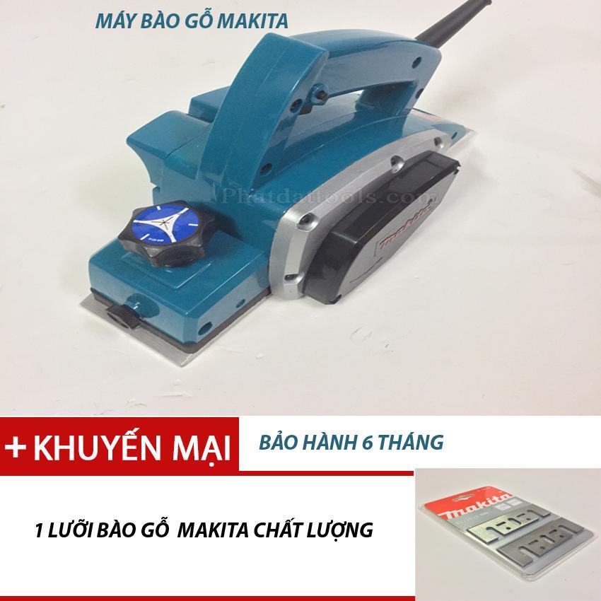 Máy bào gỗ Makita N1900B tặng lưỡi máy bào makita