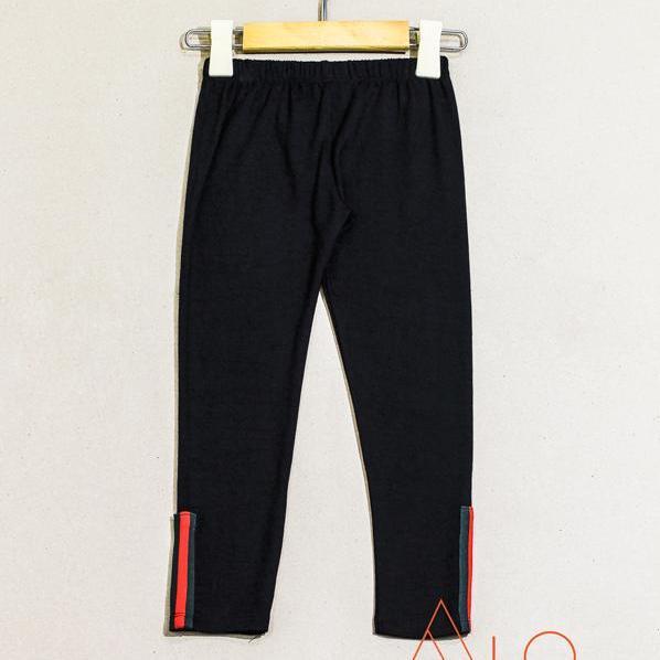 Giá bán Quần legging lửng phối ống đen cho bé gái