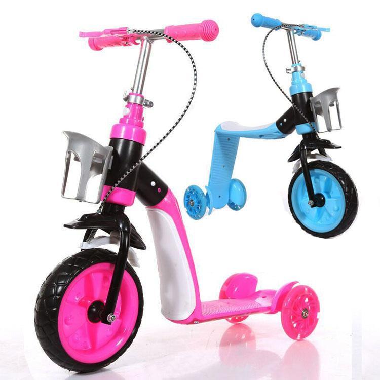 Xe chòi chân xe trượt scooter 2in1 cho bé mẫu mới nhất 2018