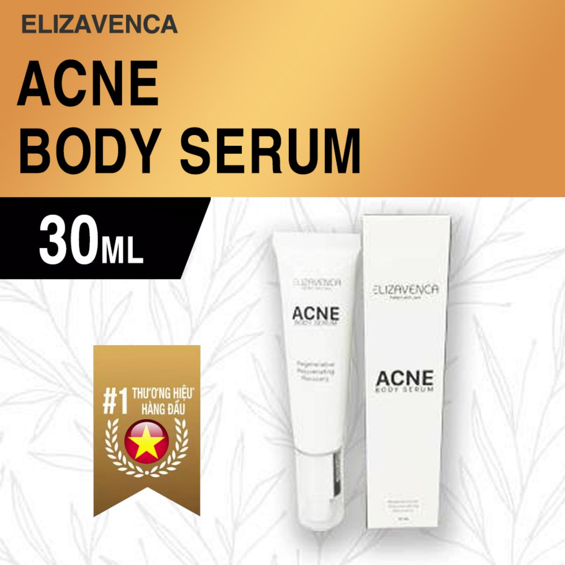 Serum đặc trị thâm mông vùng kín Elizavenca Acne Body Serum (Trị mụn, viêm, thâm, xạm da)