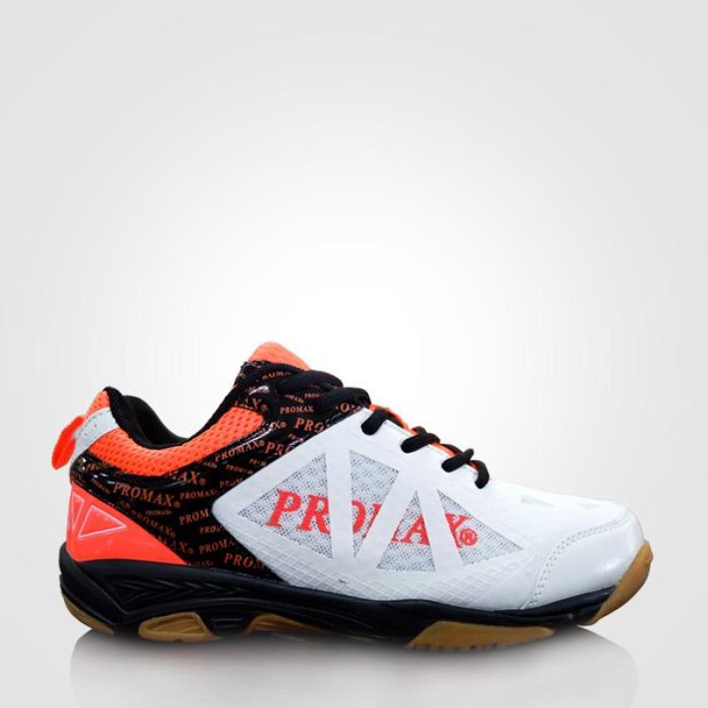 Giày cầu lông PROMAX PR 17088(trắng/cam)
