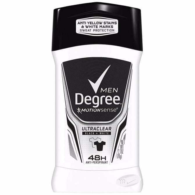 Lăn khử mùi NAM dạng sáp Degree Men Motionsense Ultra Clear Black White 48 Hours - 76Gram cao cấp