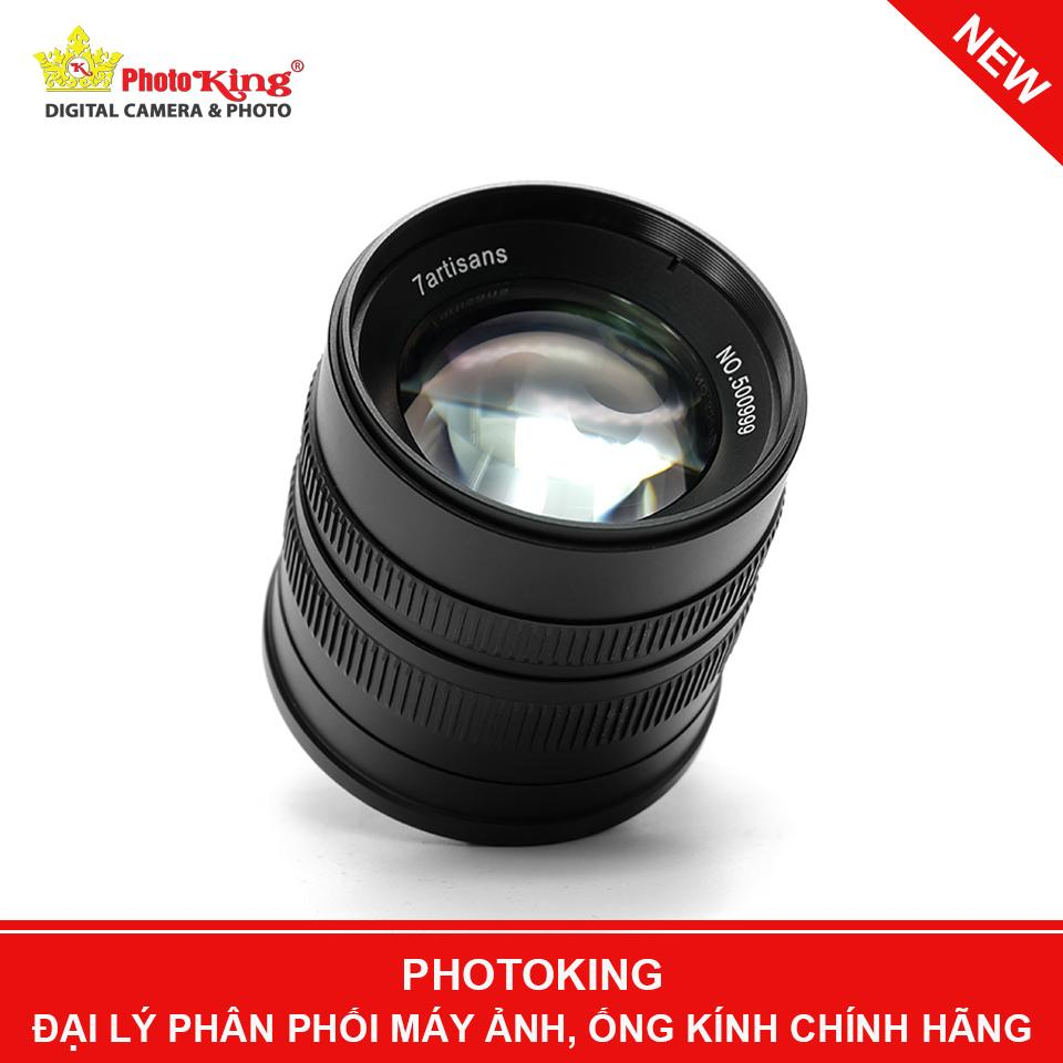 Giá Ống kính 7artisans 55mm F/1.4 MF Lens (Fuji X mount) - Tặng kèm hood kim loại dáng Leica