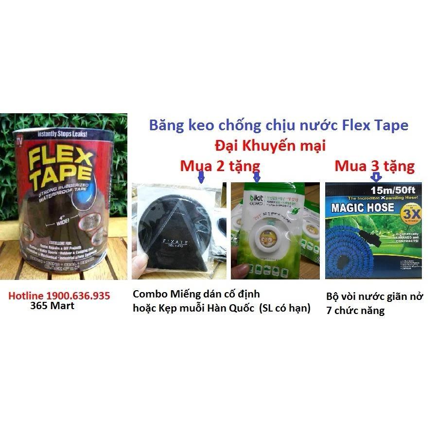 [Giá Sốc] Băng keo chống chịu nước siêu dính Flex Tape