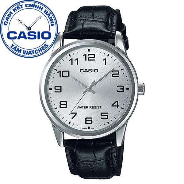 Đồng hồ nam dây da Casio Standard Anh Khuê MTP-V001L-7BUDF
