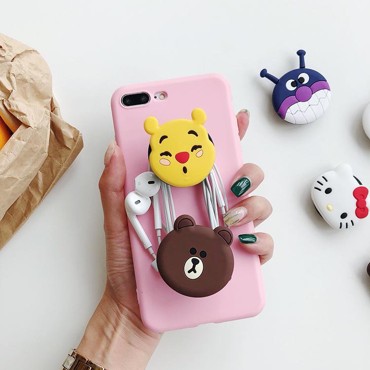 Hình ảnh Combo 2 Giá đỡ điện thoại POPSOCKET, giá để điện thoại ( màu ngẫu nhiên) + Tích thẻ tặng quà