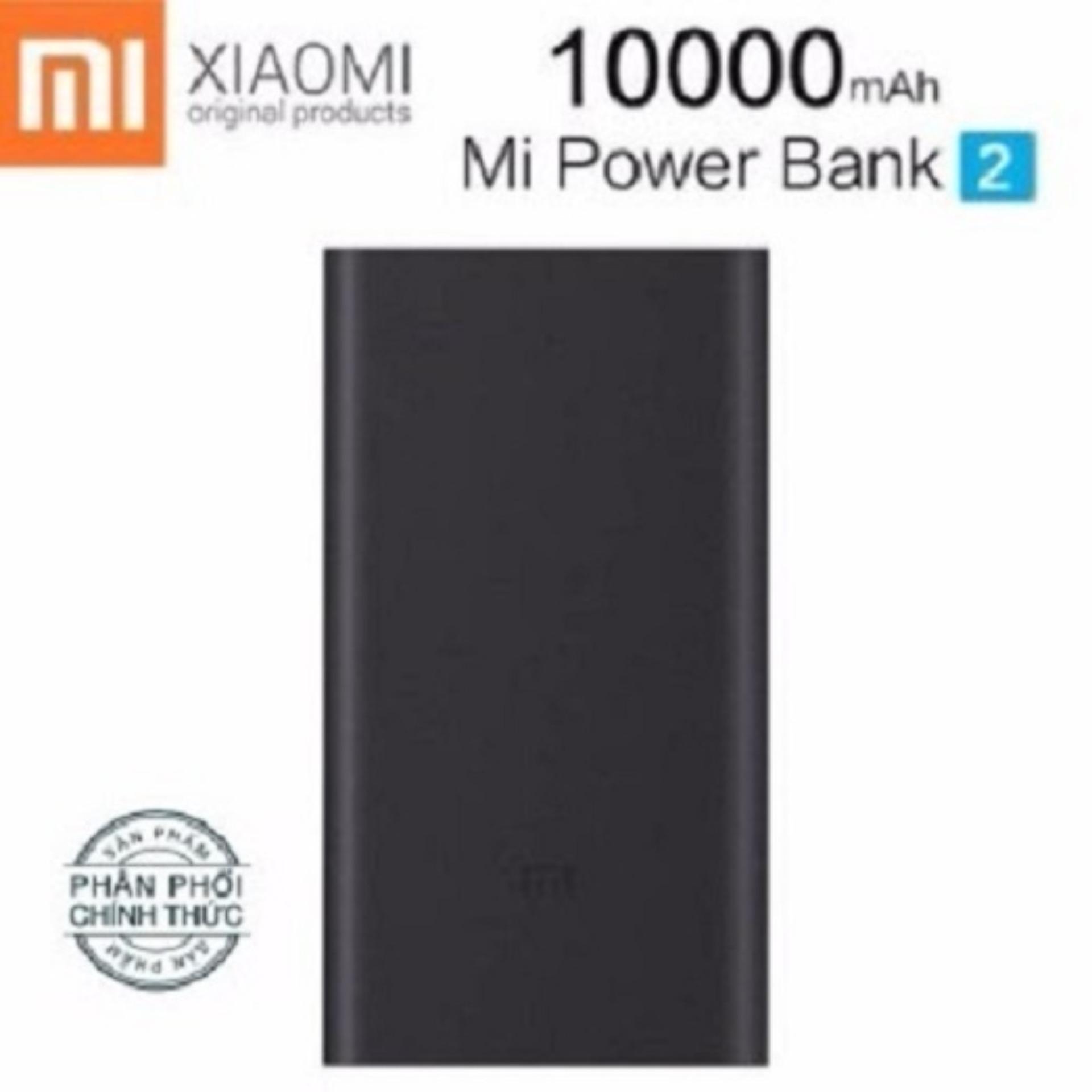 Giá Bán Pin Sạc Dự Phong Xiaomi 10 000Mah Gen 2 Đen Hang Phan Phối Chinh Thức Nguyên Xiaomi