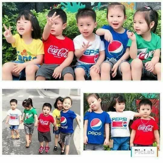 Bán Combo 3 Ao Thun Be Trai In Logo Hang Nước Ngọt Rẻ Hồ Chí Minh