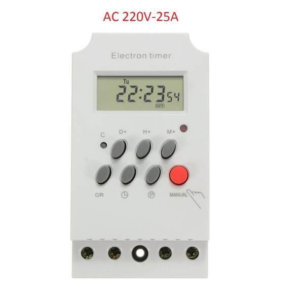Công tắc hẹn giờ 17 chương trình Electron timer KG 316T-II