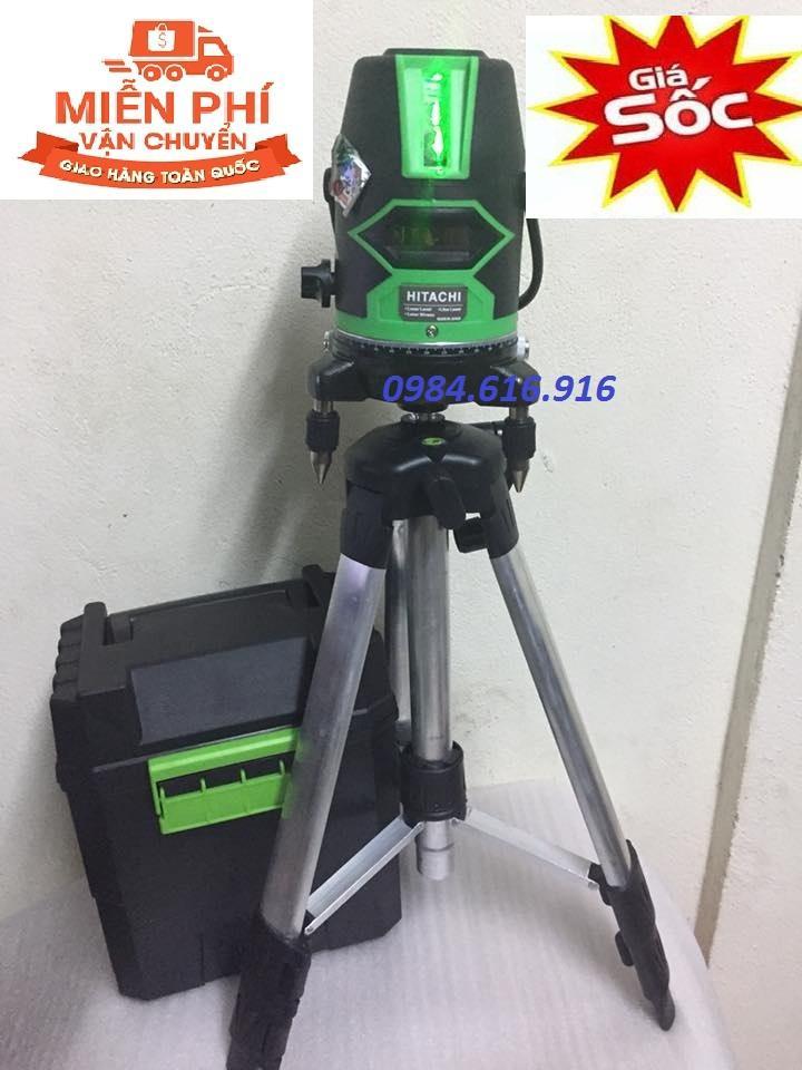 Hình ảnh Máy cân mực laser Hitachi 5 tia xanh