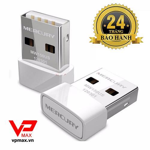 USB thu wifi Mercusys Nano dành cho PC, Laptop BH 2 năm