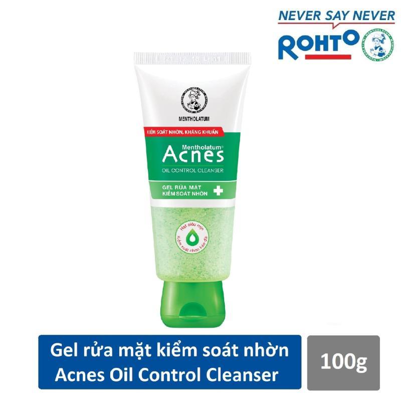 Gel rửa mặt kiểm soát nhờn ngăn ngừa mụn Acnes Oil Control Cleanser 100g nhập khẩu