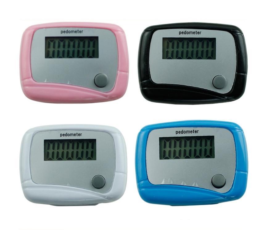 Hình ảnh Dụng cụ đếm bước chân theo dõi sức khỏe mỗi ngày cho bạn pedometer (Trắng)