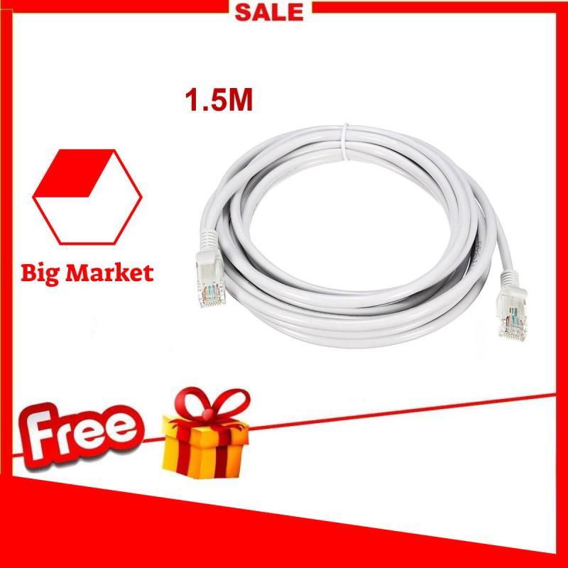Bảng giá Dây Cáp mạng internet/Lan 1.5M Chống Nhiễu 2 đầu đúc sẵn Phong Vũ